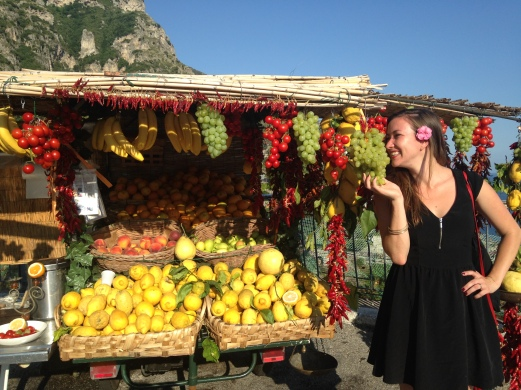 Traveling the Amalfi Coast in Italy